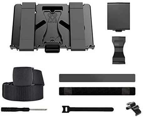 POHOVE Soporte de fijación para Powerbank Múltiples tamaños Energía móvil para Oculus Quest, Mount VR Accesorios Soporte de fijación Fijo en la Correa del Auricular VR o en la Cintura