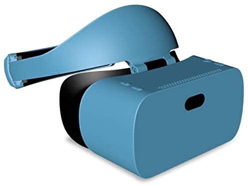 Nuevas gafas 3D VR suaves y cómodas Auriculares VR, auriculares de realidad virtual, conexión Bluetooth VR VR Pantalla todo en uno de 5,5 pulgadas, auriculares de realidad virtual 3D para juegos, pelí