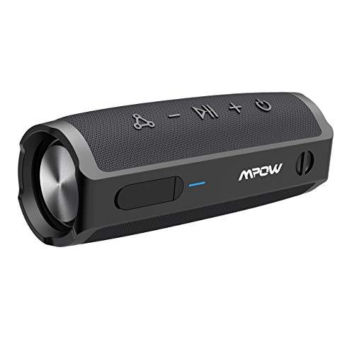 Altavoz Bluetooth Portatiles, MPOW Soundhot R9 Altavoz Exterior Impermeable IPX7, Batería de 24 Horas, 30W, Altavoz Inalámbrico con Micrófono y Manos Libres para Viaje, Aire Libre, Bicicleta