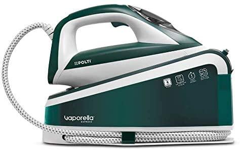 Polti Vaporella Express VE30.20 - Plancha generadora de vapor de altas prestaciones, bomba de hasta 8 bar, One Temperature para todo tipo de tejidos y ajuste digital