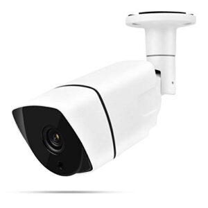 Cámara de Seguridad IR-Cut Monitor de videovigilancia 4 en 1 AHD/TVI/CVI/CVBS con menú OSD para Uso en Interiores y Exteriores(2PM NTSC System)