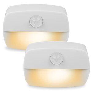 luz nocturna sensor movimiento,[2 unidades] luz de noche,luz con sensor de movimiento a pilas,Luz Quitamiedos Infantil, baño, cocina, para dormitorio, pasillo, escaleras, energéticamente eficiente