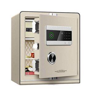HIZLJJ Inteligente de la Huella Digital Caja de Seguridad - for el Ministerio del Interior y hoteles a Passport Tienda de joyería en Efectivo (Size : 45cm)